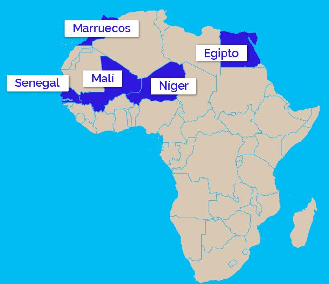 Mapa de actuación